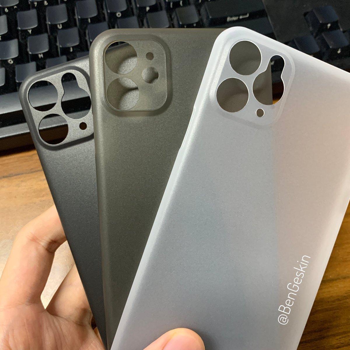 Les coques des iPhone 2019 sont déjà sorties