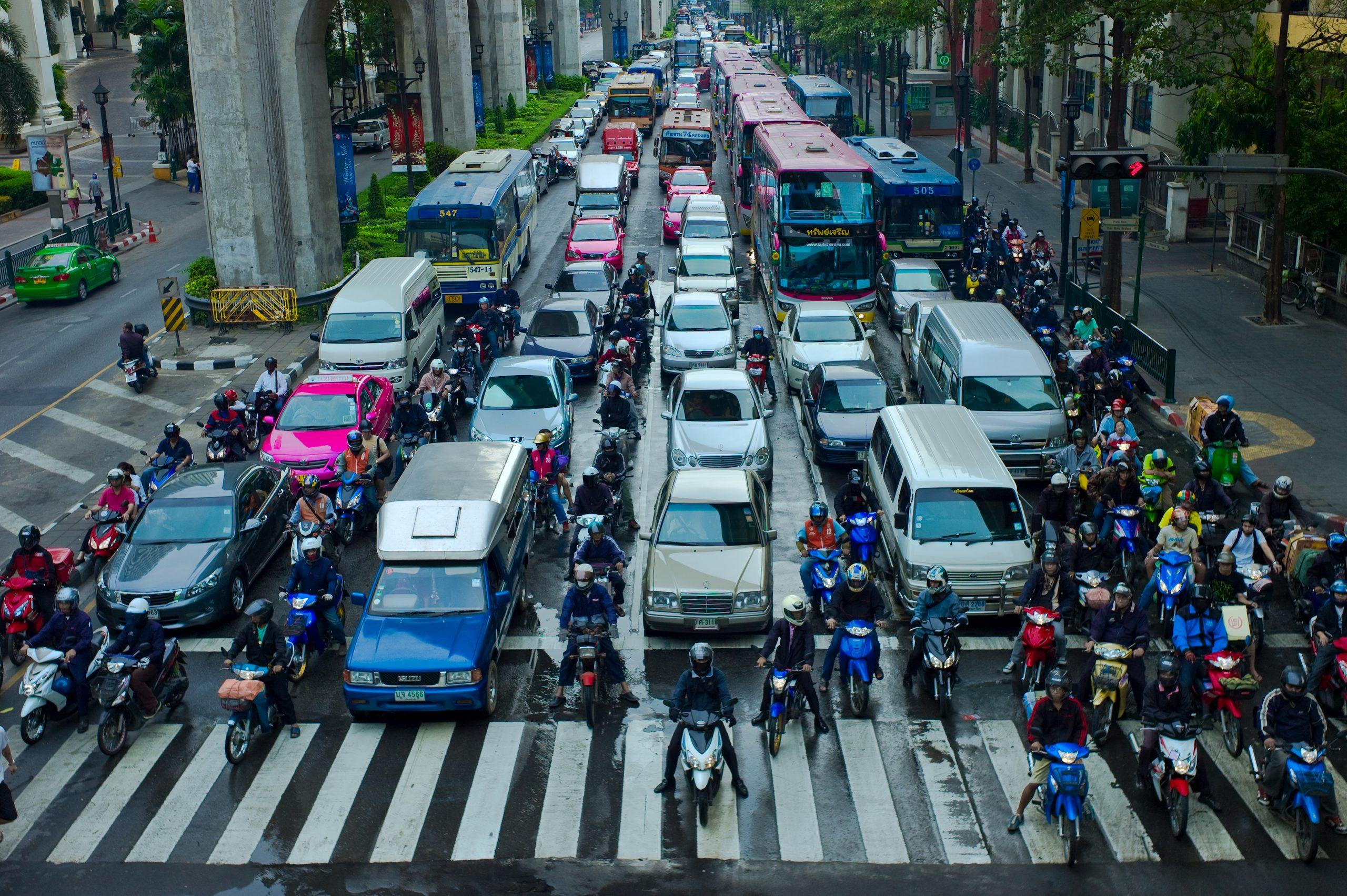 Circulation à Antananarivo : les deux roues représentent une échappatoire face aux bouchons