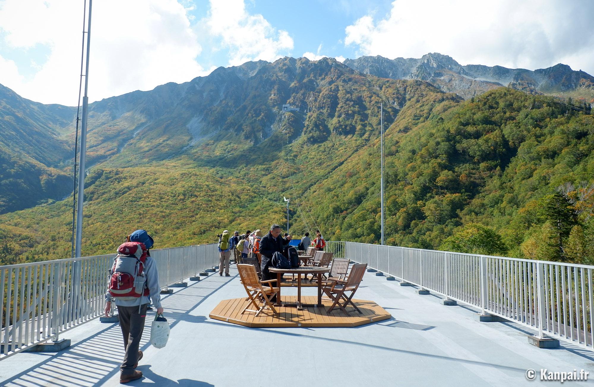 Japon : profitez de la route alpine Tateyama Kurobe à l'automne