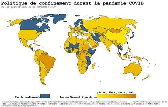 Il y a beaucoup de coronavirus infectés dans ces sept comtés