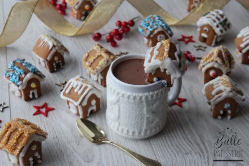 Mini maisons en pain d'épice